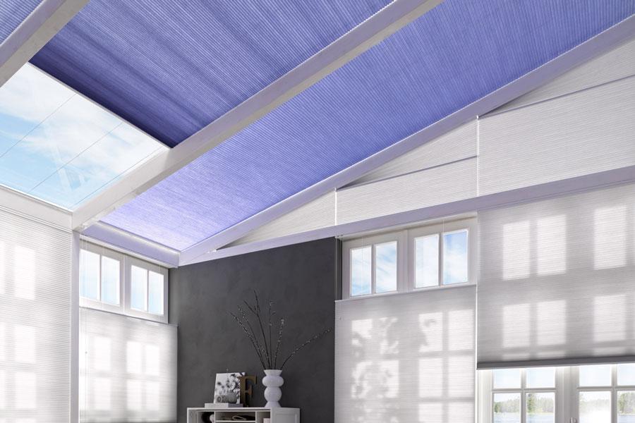 Dachflächen Plissee