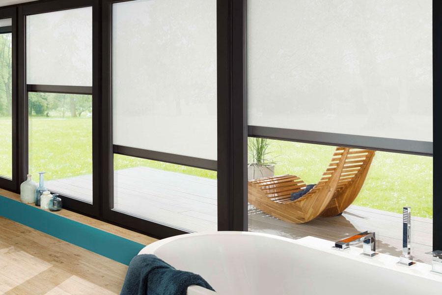 Senkrecht- und Fenstermarkise