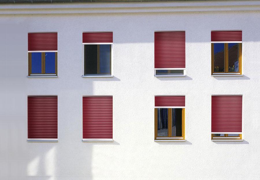 Fenster Rollladen Verdunkelung