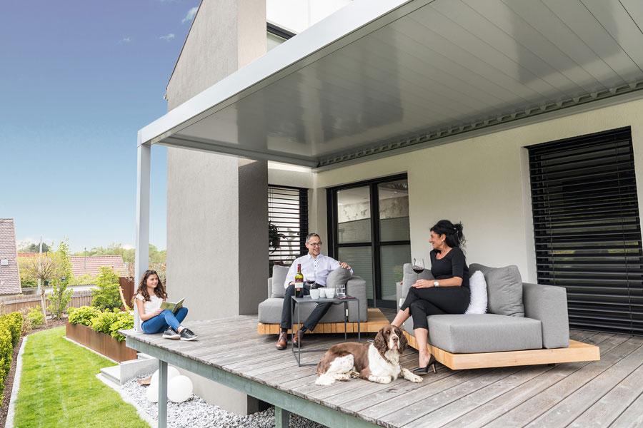 Terrassenüberdachung Prospekt downloaden