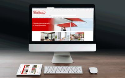 Neuer Reflexa Onlineshop