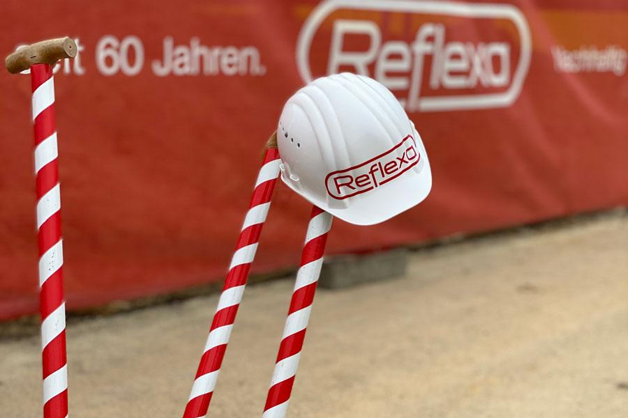 Reflexa neue Produktionshalle